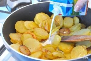 Картофель со сливками - фото шаг 2