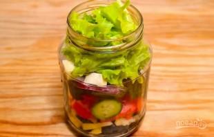 Простой рецепт греческого салата - фото шаг 2