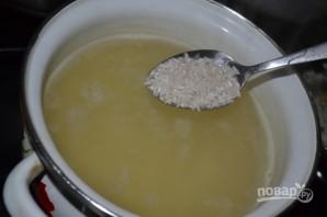Суп рыбный из горбуши консервы - фото шаг 3