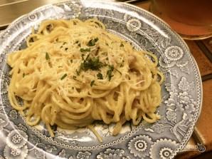 Спагетти с яйцом - фото шаг 4