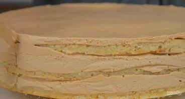 Нежный песочный торт - фото шаг 6