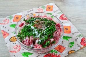 Обалденные колбаски с зеленью и чесноком - фото шаг 4