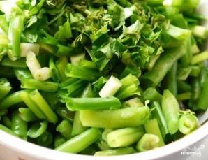 Салат из фасоли стручковой - фото шаг 6
