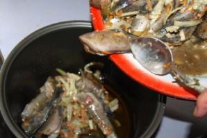 Консерва из рыбы в мультиварке - фото шаг 4