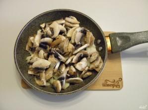 Рулет с грибами и сыром - фото шаг 3