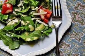 Салат с рукколой и помидорами - фото шаг 4