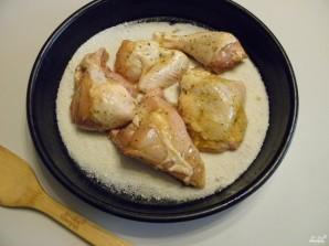 Курица на соли кусочками - фото шаг 3