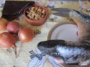 Кутум (рыба в духовке) - фото шаг 1
