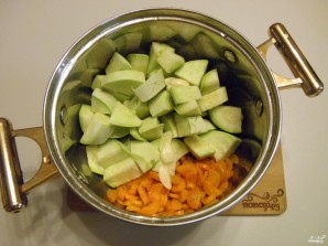 Суп-пюре из кабачков - фото шаг 3