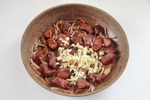 Жаркое из свинины и зеленой фасоли - фото шаг 4