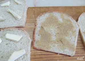 Горячие бутерброды в бутерброднице - фото шаг 1
