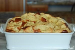 Французский хлебный пудинг с ягодами - фото шаг 7