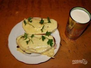 Бутерброды с чесноком и сыром - фото шаг 7