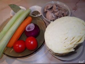 Вкусные щи из свежей капусты - фото шаг 1
