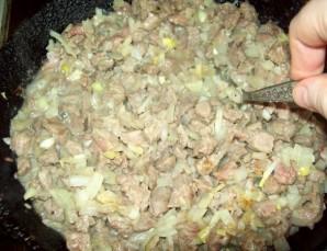 Самса с мясом в духовке - фото шаг 4