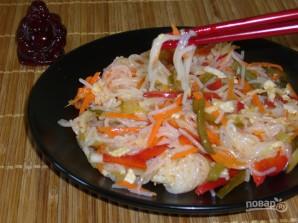 Салат из рисовой лапши - фото шаг 10