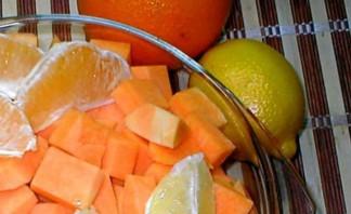 Варенье из тыквы с лимоном и апельсином (без варки) - фото шаг 2