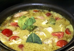 Куриные грудки с рисом и тайской пастой карри - фото шаг 4