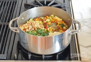 Паста с запечёнными овощами - фото шаг 5