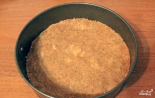 Торт из овсяного печенья без выпечки - фото шаг 1