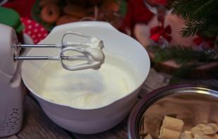 Блинный торт со сливочным кремом - фото шаг 6