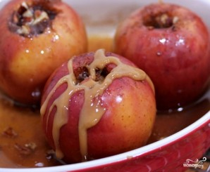 Печеное яблоко - фото шаг 8