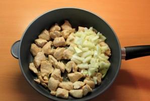 Куриное филе кусочками - фото шаг 2