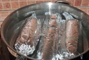 Колбаса из баранины   - фото шаг 6