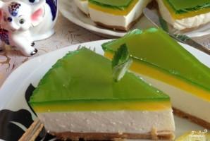 Желейный торт без выпечки - фото шаг 10