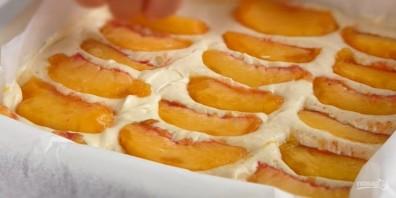 Нежнейший персиковый пирог - фото шаг 3