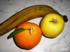 Слоеный фруктовый десерт - фото шаг 1