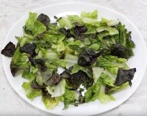 Салат с кус-кусом и жареными яблоками - фото шаг 3