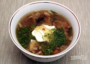Вкусный грибной суп - фото шаг 6