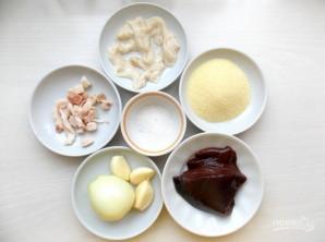 Домашняя печеночная колбаса - фото шаг 1