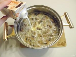 Крем-суп из шампиньонов со сливками - фото шаг 6