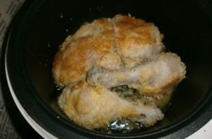 Курица в панировке в мультиварке - фото шаг 7