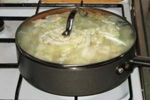 Тушеные овощи с сосиской - фото шаг 4