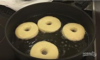 Американские пончики, покрытые шоколадом - фото шаг 7