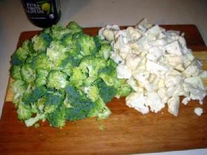 Овощной салат с креветками и лимоном - фото шаг 8