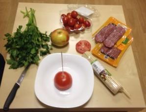 Елочка из мяса - фото шаг 4