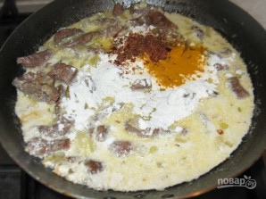 Говядина с макаронами - фото шаг 4