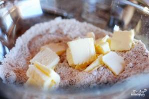 Десерт из миндаля и вишни - фото шаг 2