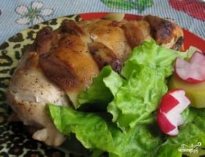 Куриная грудка с яблоками - фото шаг 5