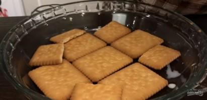 Торт без выпечки с кокосовым кремом - фото шаг 3