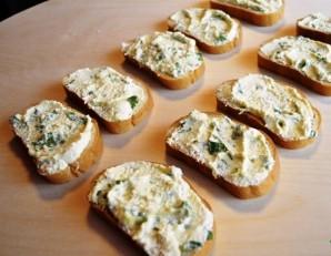 Бутерброды с баклажанами и помидором   - фото шаг 3