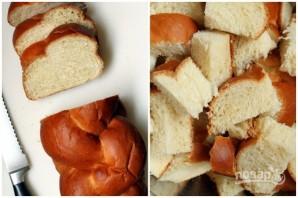 Хлебная запеканка с кленовым сиропом - фото шаг 1