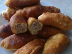 Пирожки на кефире с мясом - фото шаг 11