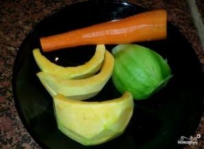 Салат из тыквы и моркови - фото шаг 1