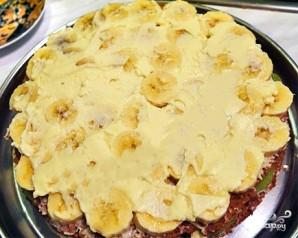 Бисквитный торт с кремом и фруктами - фото шаг 3