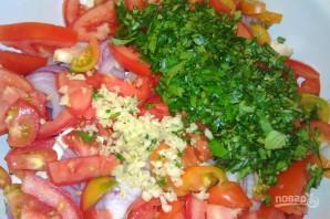 Салат с барбарисом - фото шаг 5